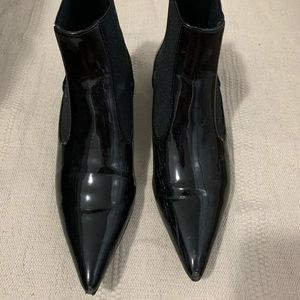Zara Shine Pointed Boots